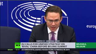 EU calls for unified strategy on 'rival' China before Beijing summit