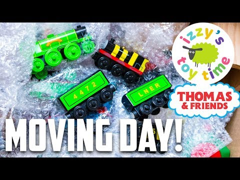 IT'S MOVING DAY! Thomas and Friends with Thomas Train Trackmaster Brio | Fun Toy Trains for Kids