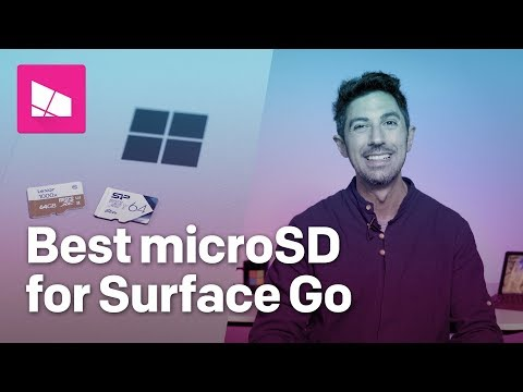 What's The Best Surface Go MicroSD Memory Card? Watch This.