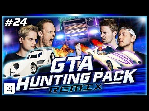 ROCKET CARS VS VRACHTAUTO'S in GTA V met Don, Joost, Link en Jeremy | LOGS3 | #24