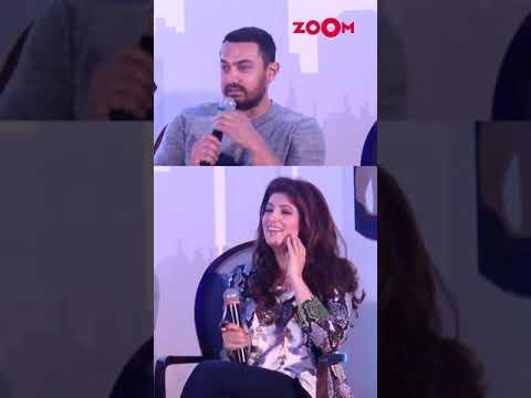 Aamir Khan on Twinkle Khanna insulting people   #Shorts