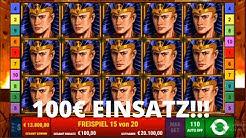 Ramses Book - ULTRA WIN auf 100€ EINSATZ - JACKPOT GEKNACKT!!
