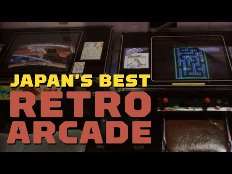 One of the Best Arcades in Japan - Game Center Mikado