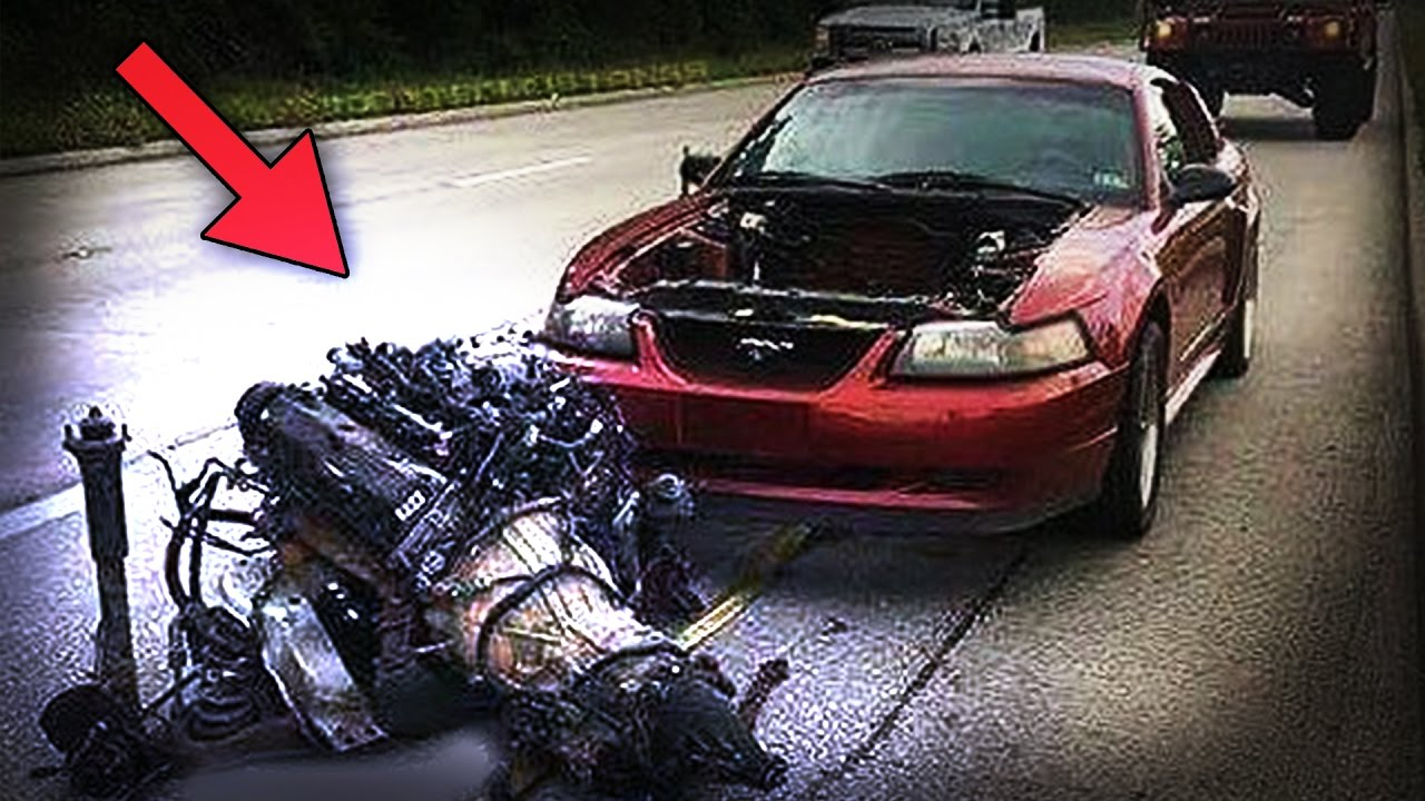 ENGINE RIPPED OUT ! [ EXTREME COMPILATION ] (explosions,knock sound ...