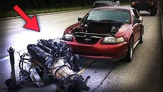 ENGINE RIPPED OUT ! [ EXTREME COMPILATION ] (explosions,knock sound,engine failure,fails)