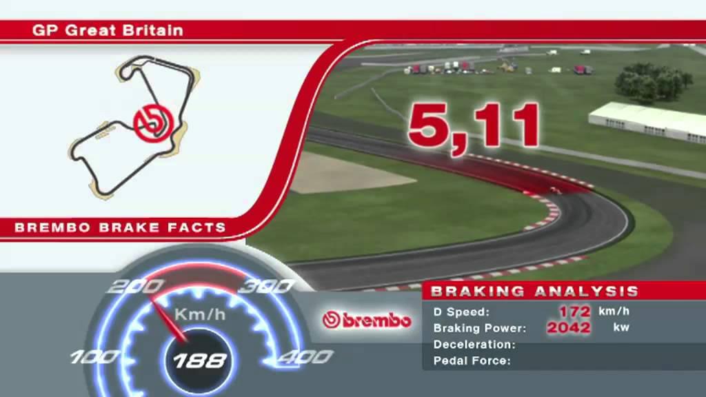 2011年 F1イギリスGP ブレーキパ...