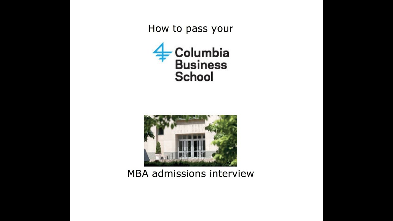 columbia business school application essay Get linda abraham's expert advice on writing a columbia business school application essay that impresses the adcom and makes them want to meet you.