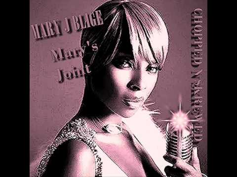 Mary J Blige   Mary's Joint Chopped  & Screwed  DJ Ed Je'von