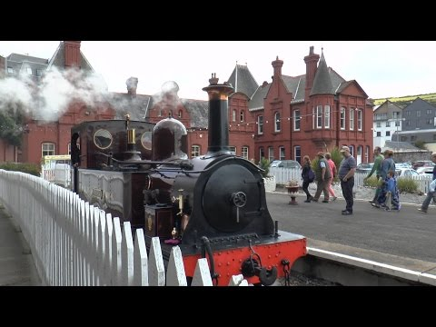 Douglas to Port Erin Isle of Man Steam Railway August 2014