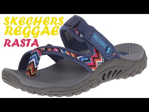 Skechers Reggae Rasta Thong Sandals Review - Sightseeing & Hiking!
