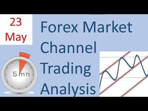 Forex trading Market Analysis for Channel Trading 23 May for live  broker account trading