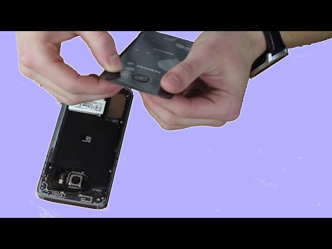 How to Replace the Back Plate on Galaxy S7