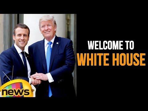 Trump Family Welcomes France President Macron To The White House | Mango News