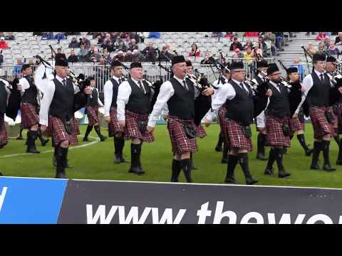 World Pipe band Championships 2017 - Police Service of Northern Ireland MSR - [4K/UHD]