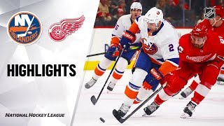 NHL Highlights | Islanders @ Red Wings 12/02/19
