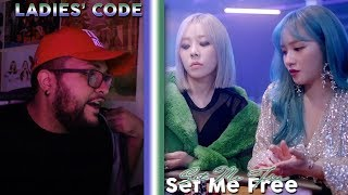 LADIES' CODE - SET ME FREE MV REACTION!!!   THOSE LAST 15 SE…