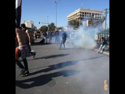 قتل 12 متظاهراً في عدة مدن عراقية  - نشر قبل 10 ساعة