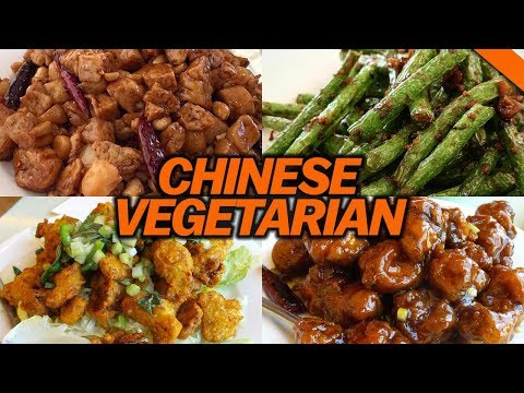VEGETARIAN CHINESE FOOD (It tastes like meat?!) - Fung Bros Food