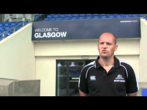 Gregor Townsend's first interview as Glasgow Warriors head coach