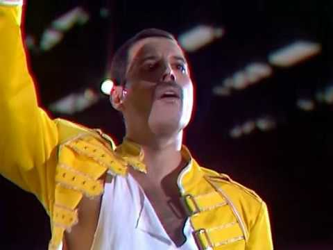 Queen - Live At Wembley stadium - 11 july 1986