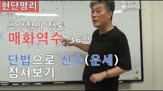 [현단명리] 매화역수 36강 단법으로 신수보기