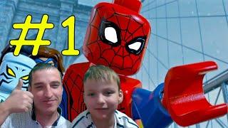 Смотреть Lego Marvel Super Heroes 2 Прохождение #1
