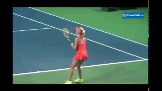 видео Большой теннис в Москве