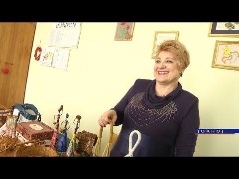 Марина Музыкантова – плетение из газетной лозы
