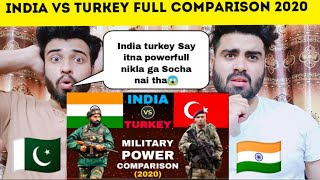 India Vs Turkey Full Military Power Comparison 2020 Shocking Reaction By |Pakistani Bros Reactions|