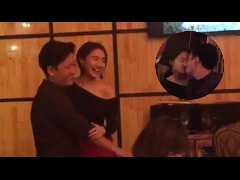 Trường Giang ôm hôn Nhã Phương trên 'sóng livestream' ngày sinh nhật