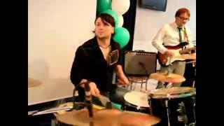 "Cover-band ""Парк Гайдара"" - Соло на барабанах от Валентина Баринова"
