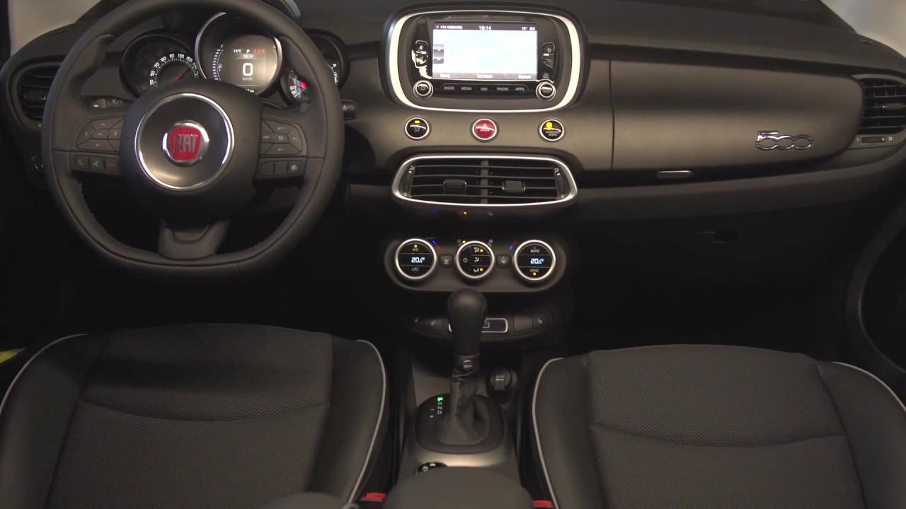 Fiat 500   Interior Design | AutoMotoTV