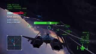 Ace Combat Infinity - Sorties with ADF-01 FALKEN