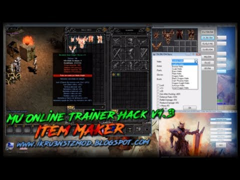 MU Online Trainer Hack v1.3 - Item Maker