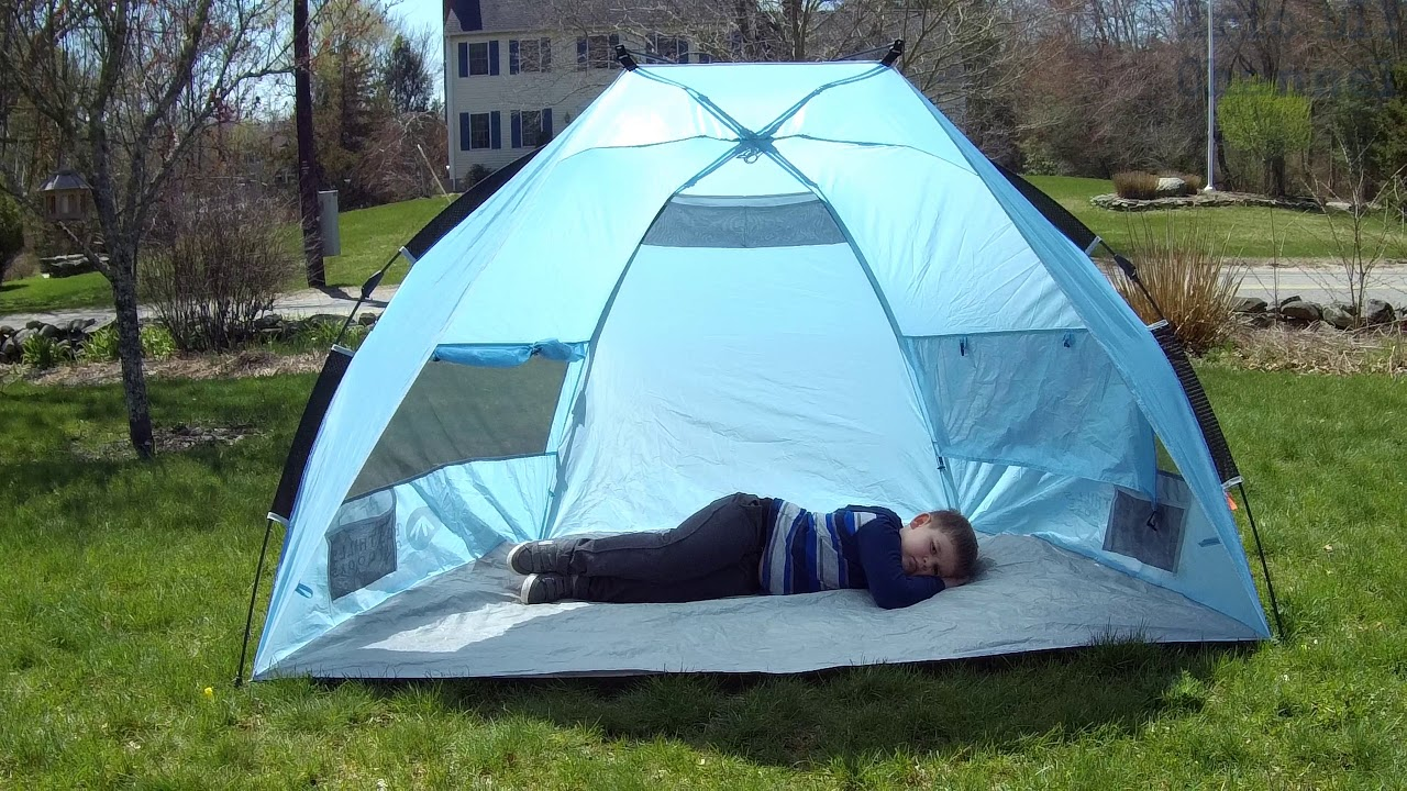 new concept 36462 a0515 Easthills Outdoors Easy Up Beach Tent Sun Shelter Lite Version Review