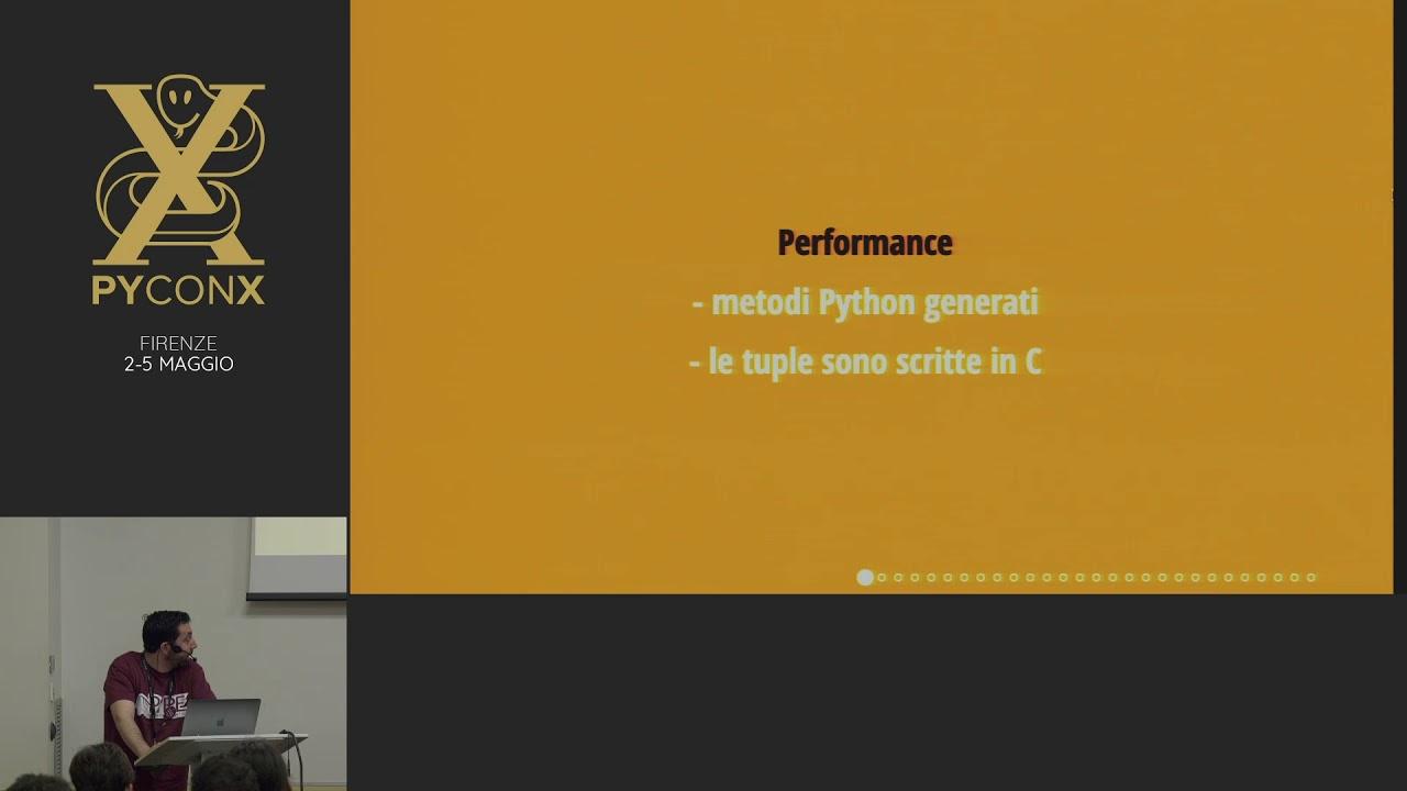 Image from Alessandro Cucci - Uno sguardo alle Dataclasses: quando una namedtuple non basta