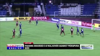 Video Gol Pertandingan Persipura vs Pahang