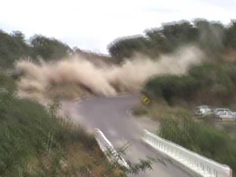 Carrera Panamericana - Despiste llegando a AGS (Octubre 2008)