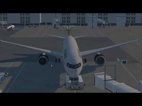 BOEING 787 - LONDON TO DUBLIN FLIGHT SIM [X PLANE 11]