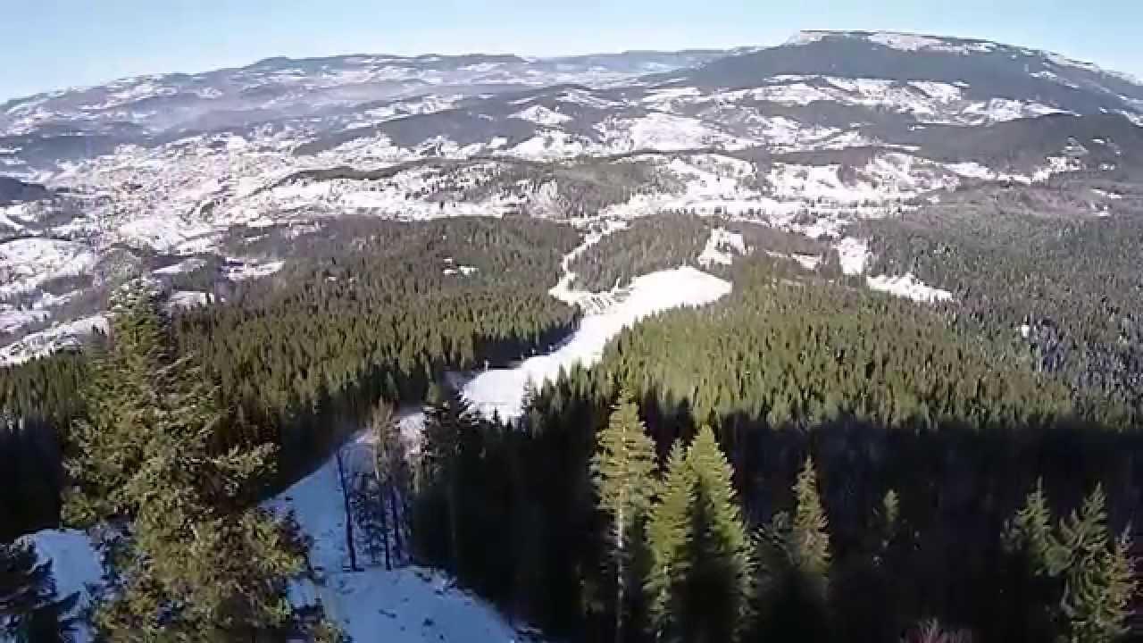 جولة تزلج في ثلوج جبل ياهورينا قرب سراييفو Youtube