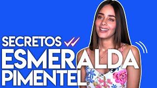 Esmeralda Pimentel nos confiesa si ha fingido alguna vez entre otros Secretos