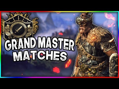 [For Honor] Rep 50 Highlander Grand Master Placement Matches!