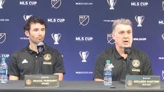 Free Kick: Atlanta United Tata Martino, Michael Parkhurst MLS Cup Pt. 1 (12.6.18) #sportsinqurier