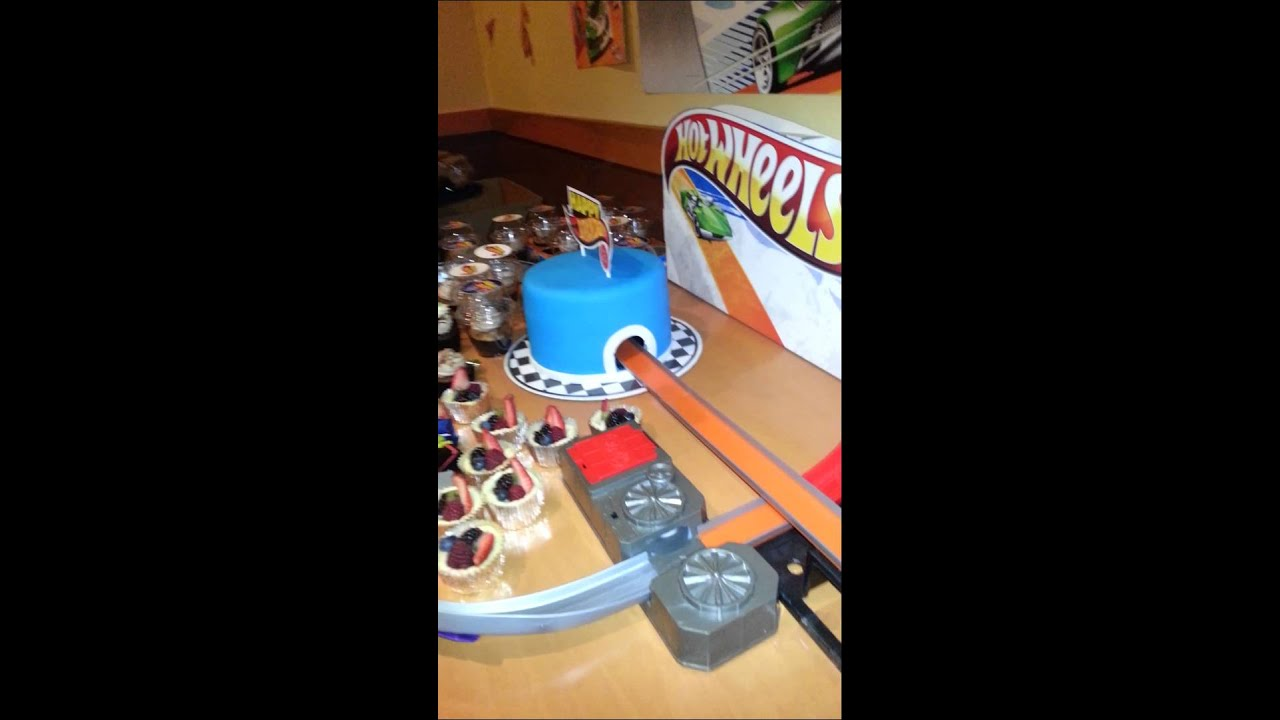 Hot Wheels Birthday Cake Ideas