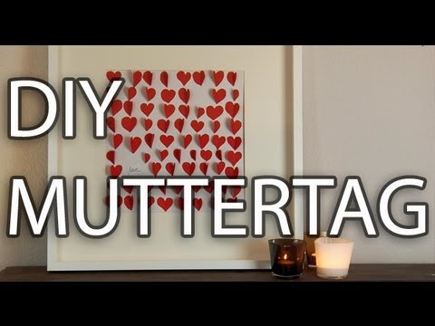 diy zum muttertag wohnprinz youtube. Black Bedroom Furniture Sets. Home Design Ideas