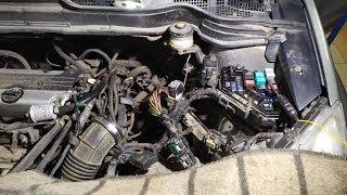 Honda CR-V не работает  селектор  АКПП