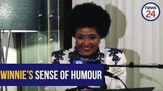 From the archives: Remembering Winnie Mandela's sense of humour