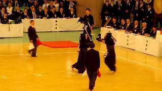 65th All Japan Kendo Championship 49   Round 3, Hayashida vs Sakaguchi