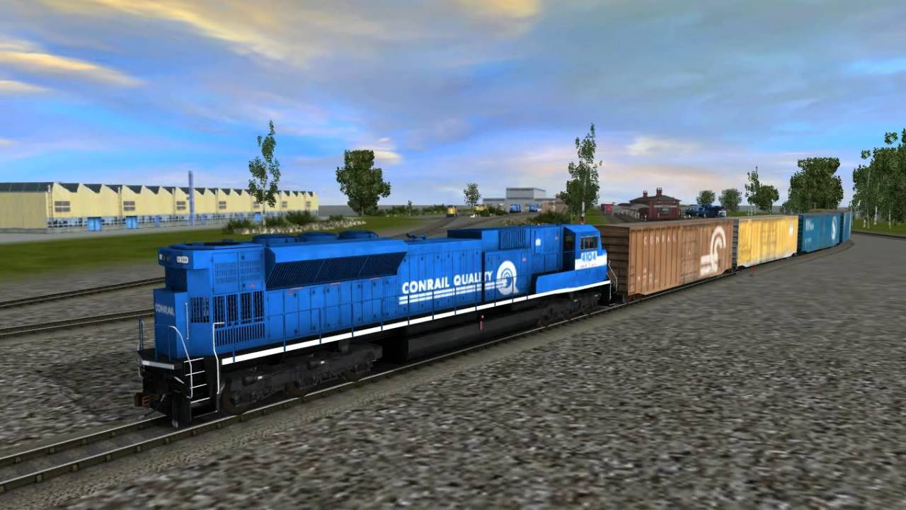 Conrail SD-80 from RR Mods in Trainz 2012