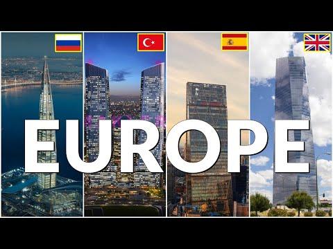 Top 50 Tallest Buildings in Europe 2021